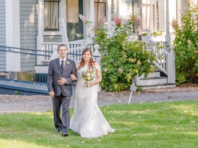Anna and Jessica's Wedding in Durham, New Hampshire 46