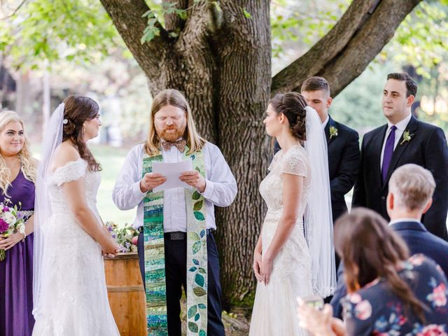 Anna and Jessica's Wedding in Durham, New Hampshire 50