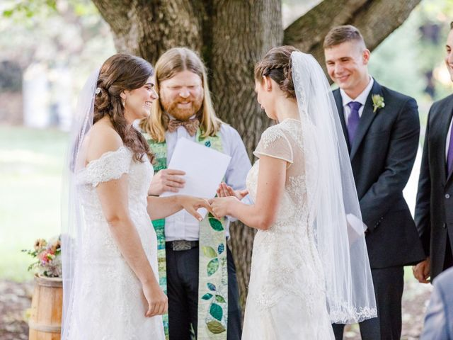 Anna and Jessica's Wedding in Durham, New Hampshire 61