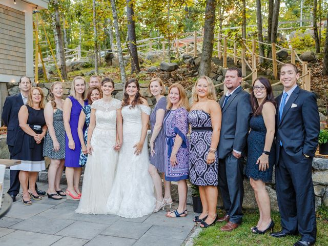 Anna and Jessica's Wedding in Durham, New Hampshire 73