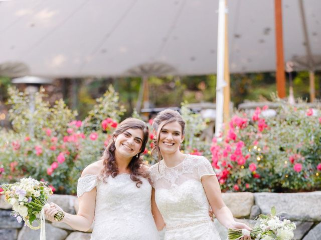 Anna and Jessica's Wedding in Durham, New Hampshire 74