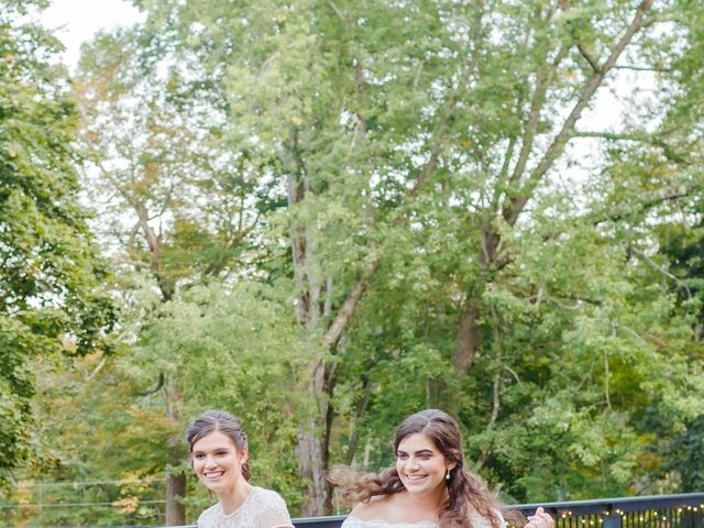 Anna and Jessica's Wedding in Durham, New Hampshire 77