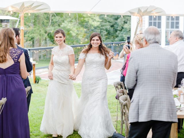Anna and Jessica's Wedding in Durham, New Hampshire 78