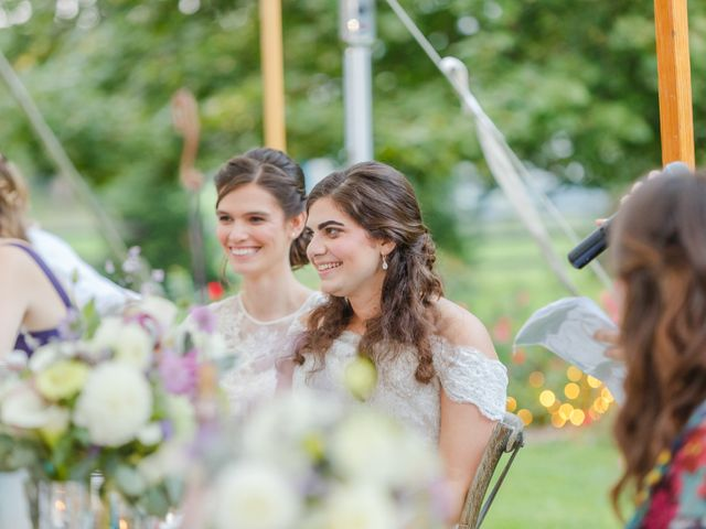 Anna and Jessica's Wedding in Durham, New Hampshire 86