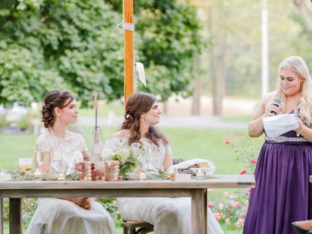 Anna and Jessica's Wedding in Durham, New Hampshire 87