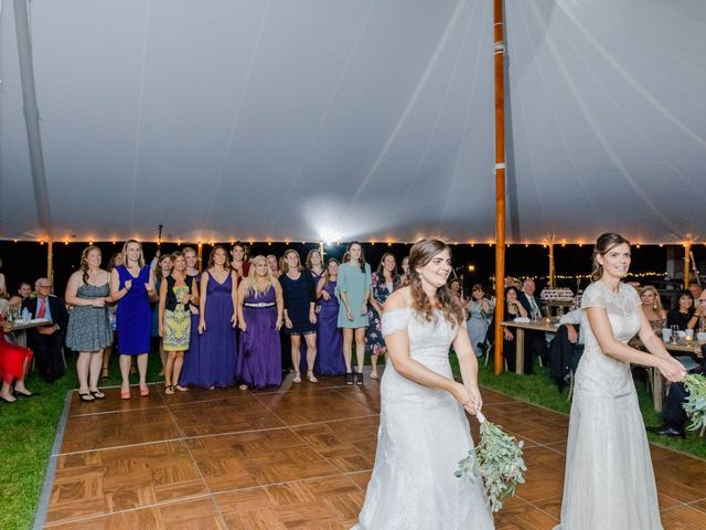 Anna and Jessica's Wedding in Durham, New Hampshire 102