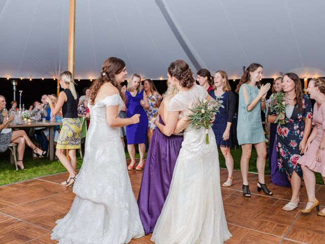 Anna and Jessica's Wedding in Durham, New Hampshire 105