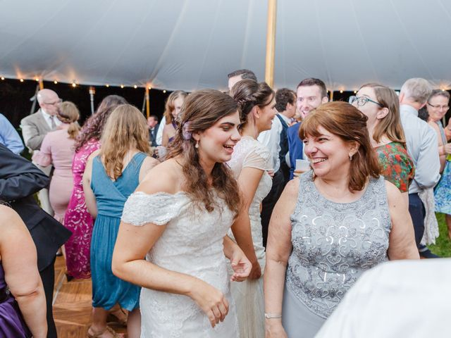Anna and Jessica's Wedding in Durham, New Hampshire 106