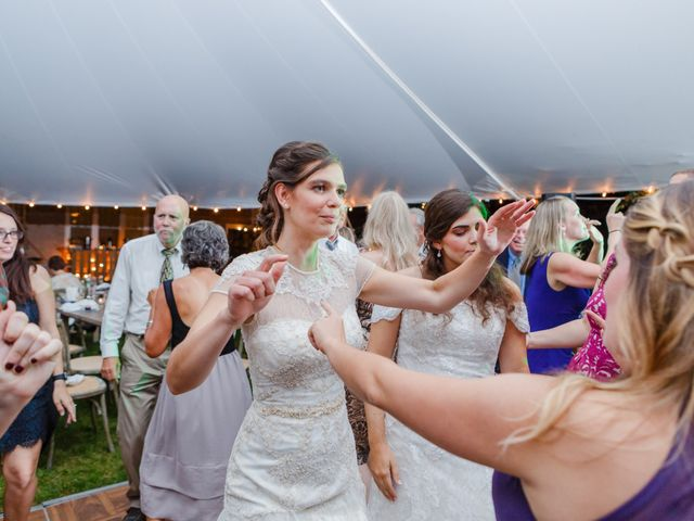 Anna and Jessica's Wedding in Durham, New Hampshire 109