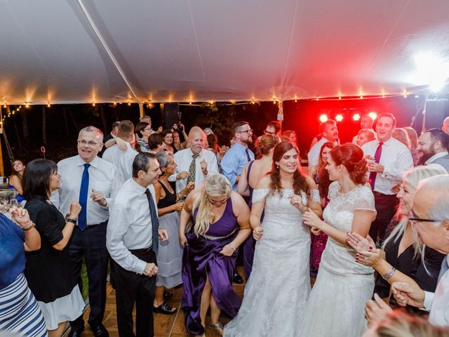 Anna and Jessica's Wedding in Durham, New Hampshire 116