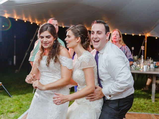 Anna and Jessica's Wedding in Durham, New Hampshire 118