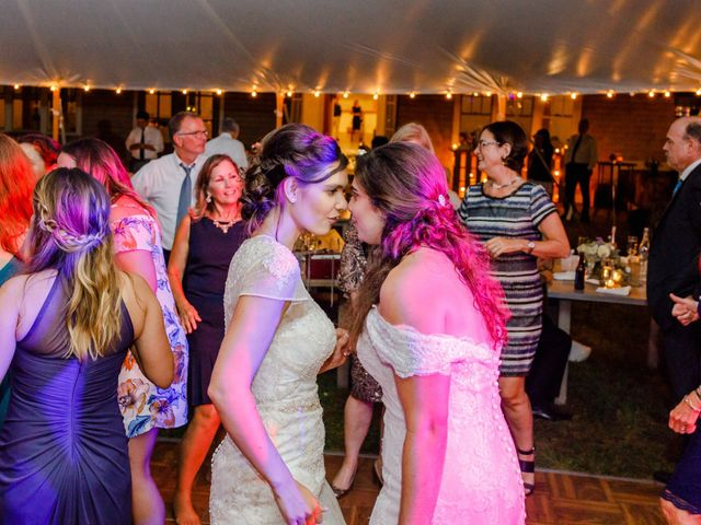 Anna and Jessica's Wedding in Durham, New Hampshire 119