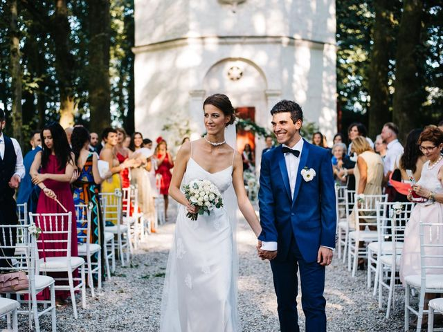 The wedding of Chiara and Francesco