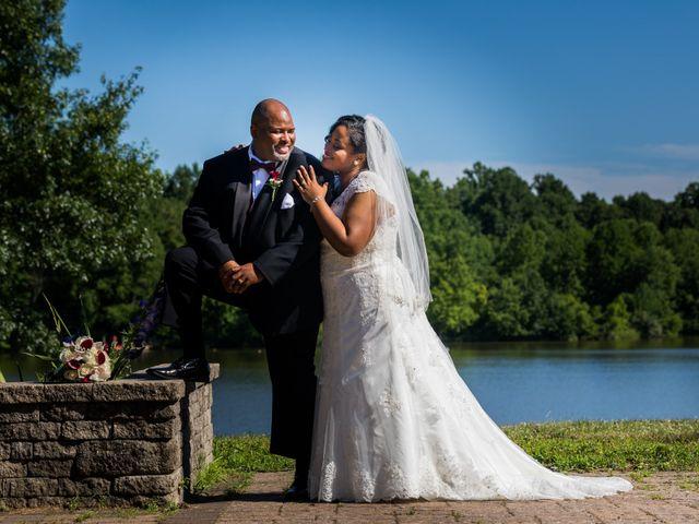 The wedding of Sarina and Rick