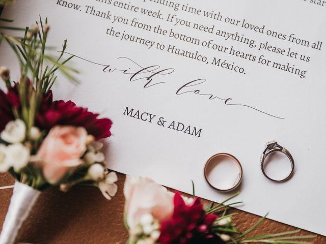 Adam and Macy's Wedding in Bahias De Huatulco, Mexico 7