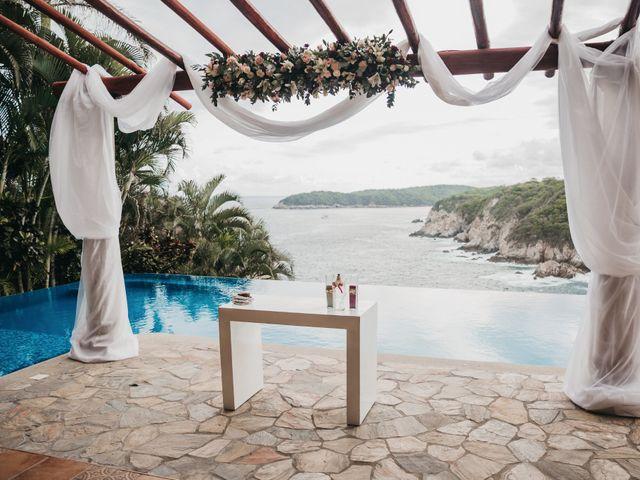 Adam and Macy's Wedding in Bahias De Huatulco, Mexico 54