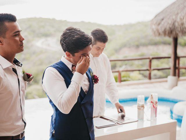 Adam and Macy's Wedding in Bahias De Huatulco, Mexico 61