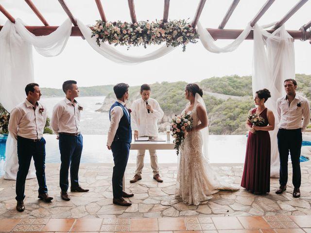Adam and Macy's Wedding in Bahias De Huatulco, Mexico 62
