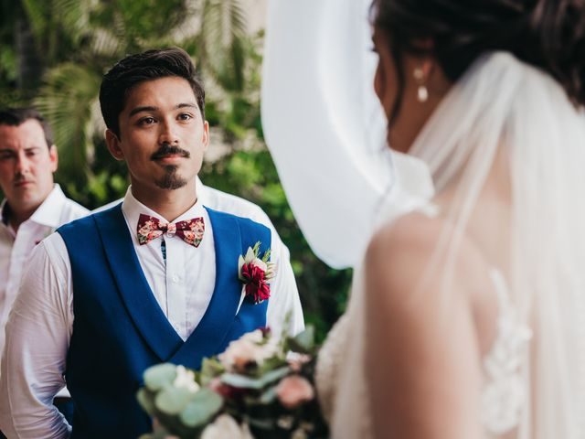 Adam and Macy's Wedding in Bahias De Huatulco, Mexico 63