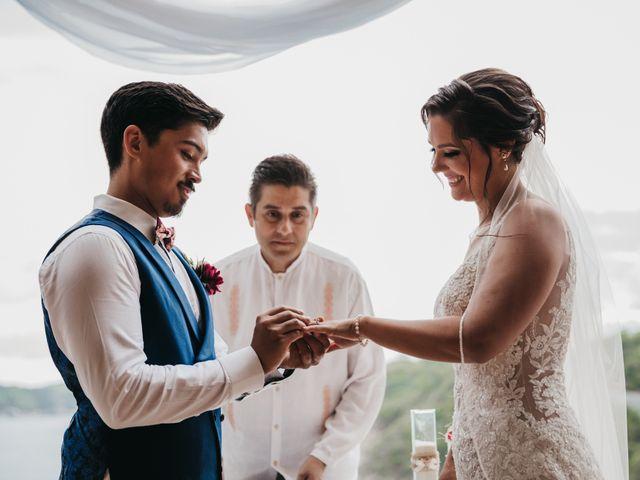 Adam and Macy's Wedding in Bahias De Huatulco, Mexico 67