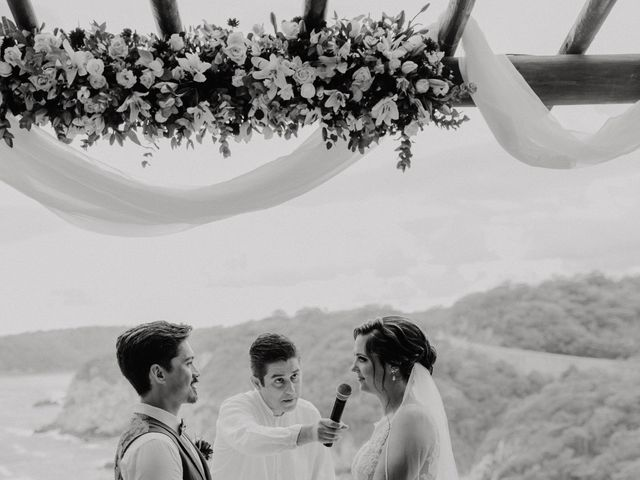 Adam and Macy's Wedding in Bahias De Huatulco, Mexico 71