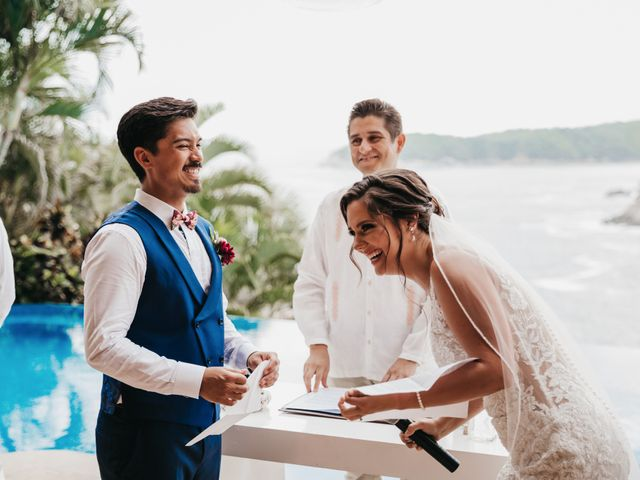 Adam and Macy's Wedding in Bahias De Huatulco, Mexico 72