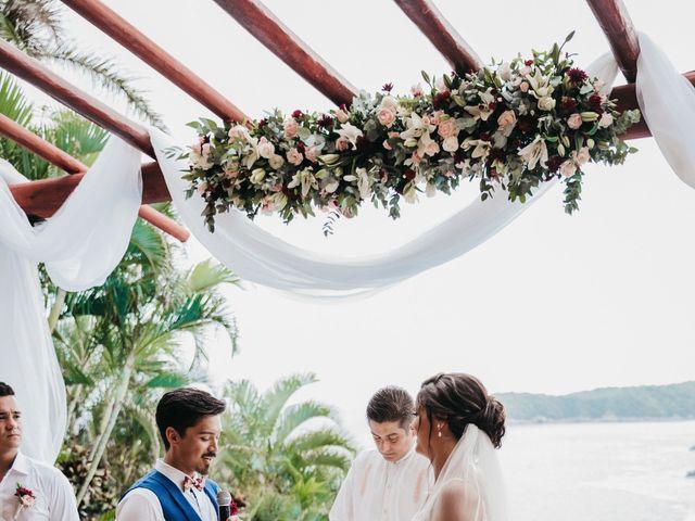 Adam and Macy's Wedding in Bahias De Huatulco, Mexico 76