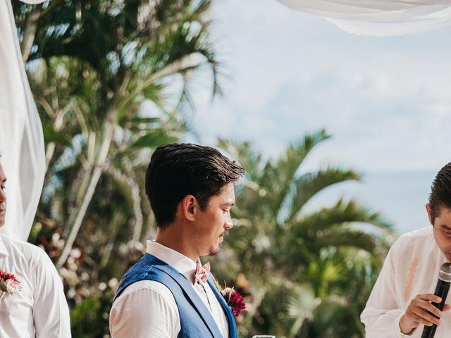 Adam and Macy's Wedding in Bahias De Huatulco, Mexico 78
