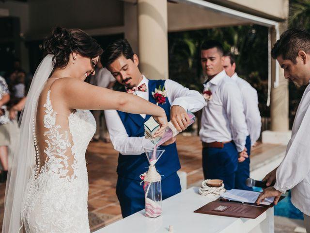 Adam and Macy's Wedding in Bahias De Huatulco, Mexico 80