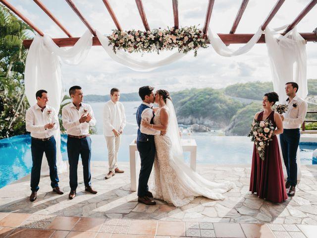 Adam and Macy's Wedding in Bahias De Huatulco, Mexico 85