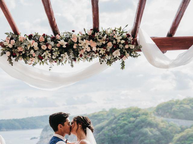 Adam and Macy's Wedding in Bahias De Huatulco, Mexico 86