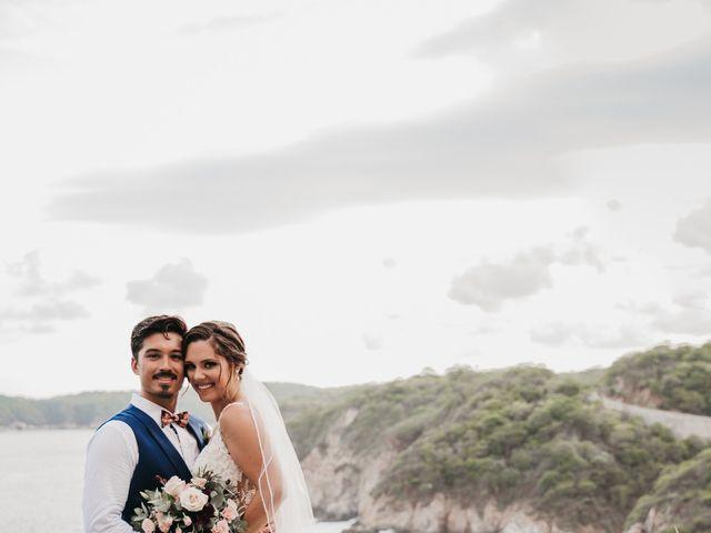 Adam and Macy's Wedding in Bahias De Huatulco, Mexico 95