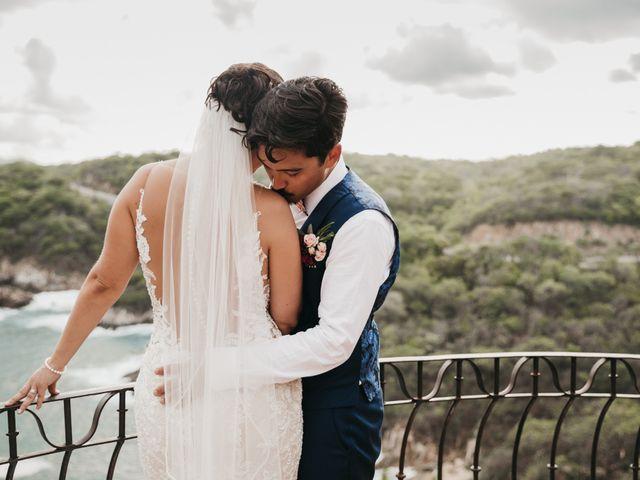 Adam and Macy's Wedding in Bahias De Huatulco, Mexico 101