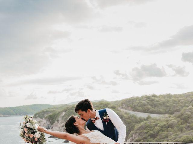Adam and Macy's Wedding in Bahias De Huatulco, Mexico 103