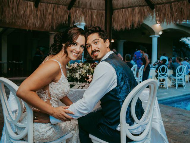 Adam and Macy's Wedding in Bahias De Huatulco, Mexico 112