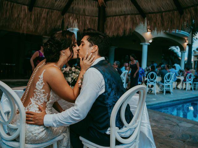 Adam and Macy's Wedding in Bahias De Huatulco, Mexico 113