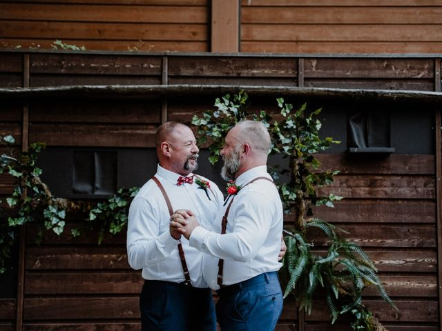 Chris and Eric's Wedding in Seattle, Washington 32