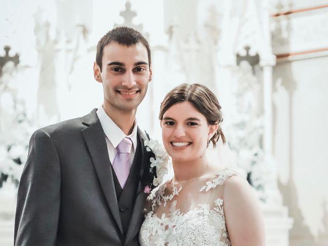 The wedding of Lisa and Chris