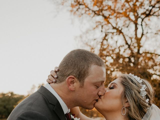 The wedding of Victoria and Zach