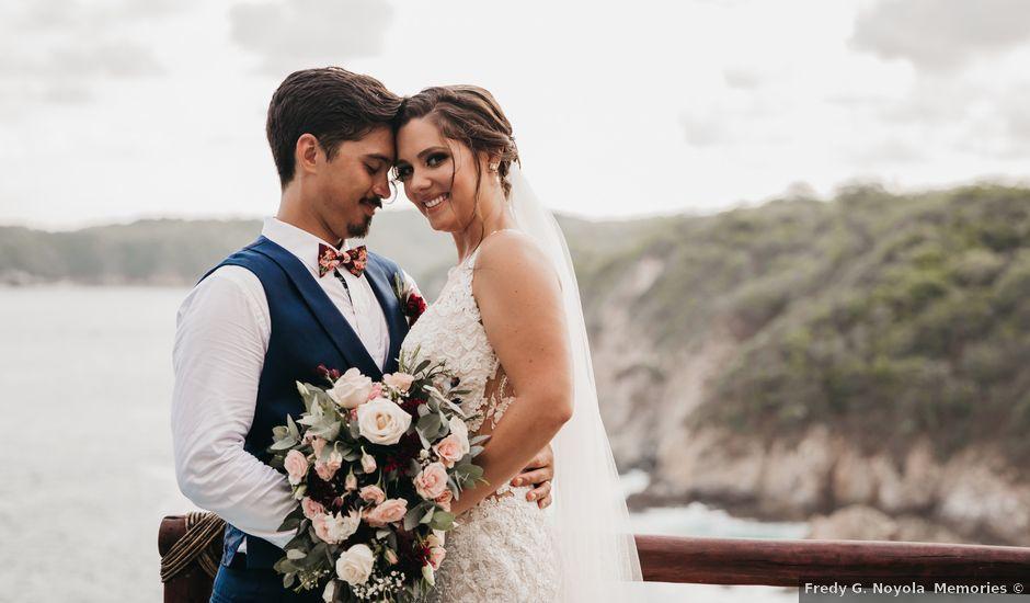 Adam and Macy's Wedding in Bahias De Huatulco, Mexico