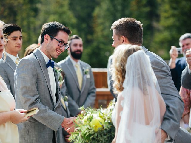 Katie and Kyle's Wedding in Ouray, Colorado 9