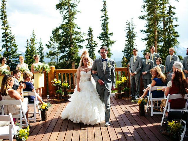 Katie and Kyle's Wedding in Ouray, Colorado 12