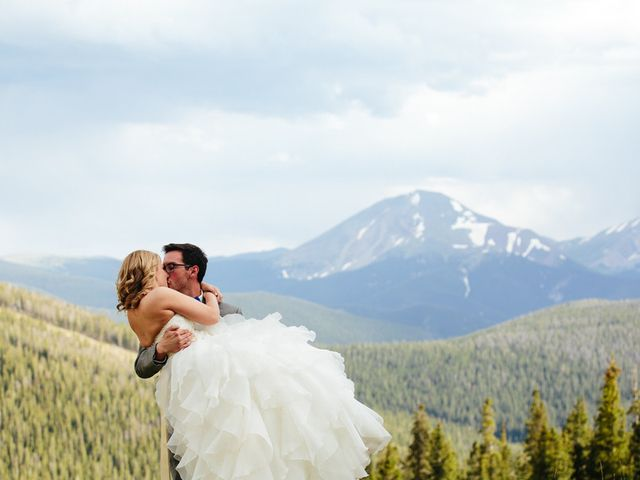 Katie and Kyle's Wedding in Ouray, Colorado 13