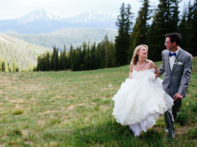 Katie and Kyle's Wedding in Ouray, Colorado 14
