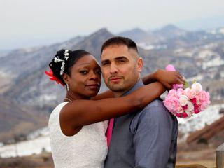 The wedding of Tamara and Elias