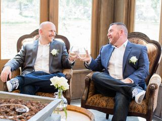 The wedding of Donnie and Chris