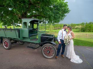 The wedding of Crystal and Chris