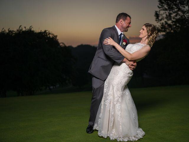 The wedding of Samantha and Chris