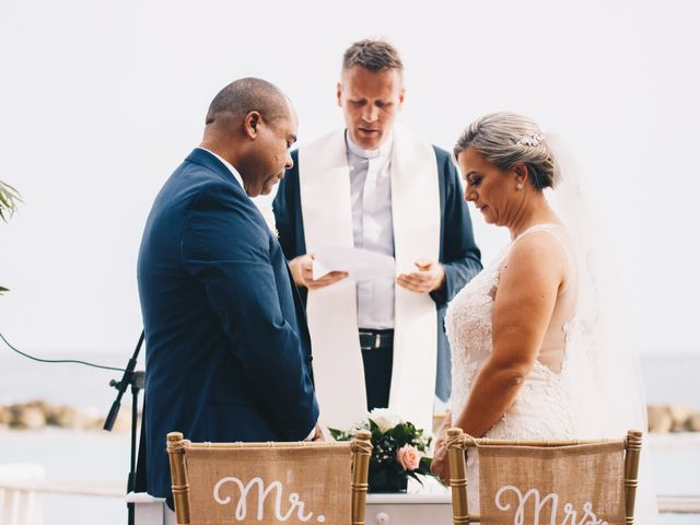 Delilah and Ulrich's Wedding in Willemstad, Curacao 7