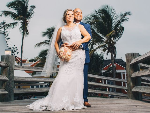 Delilah and Ulrich's Wedding in Willemstad, Curacao 9